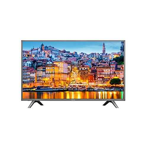 """Hisense H49N5700 televisor 49"""" LED 4K Ultra HD modelo 2017, Marco gris oscuro"""
