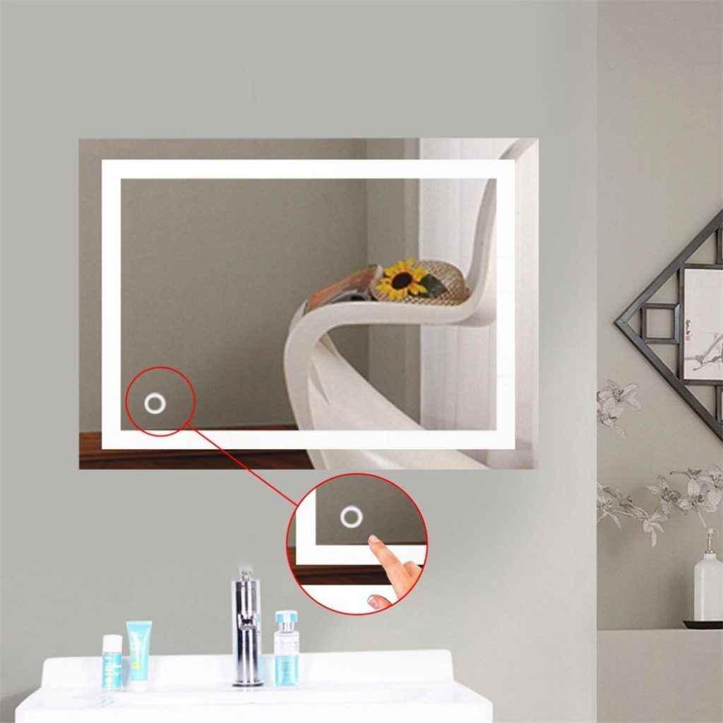 Espejo Bano Aumento Con Luz.Bonitos Y Mejores Espejos Para El Bano O Aseo 2020