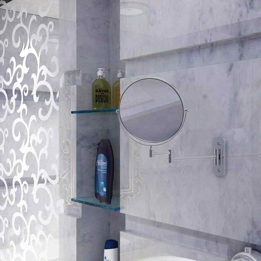 espejo de baño extensible con aumento