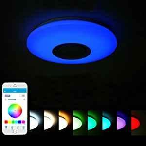 plafon rgb color techo lampara