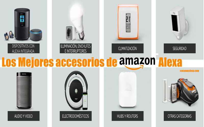 productos y accesorios compatibles con amazon echo. Black Bedroom Furniture Sets. Home Design Ideas