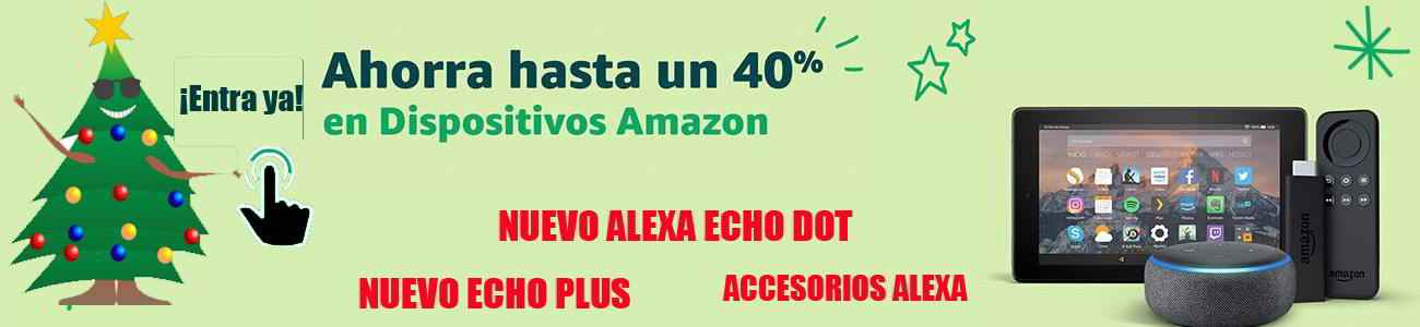 dispositivos Alexa Echo