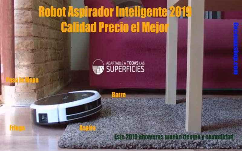 Robot aspirador marca Cecotec Conga modelo Excellence 05040