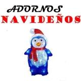 Adornos navideños para el TEJADO Leds de exterior