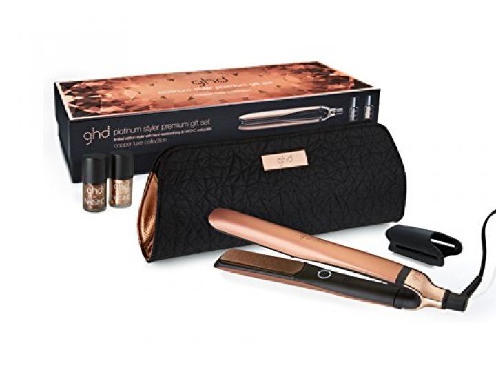 Ghd Copper - Plancha para el pelo, tecnologia tri-zone, color cobre metalizado